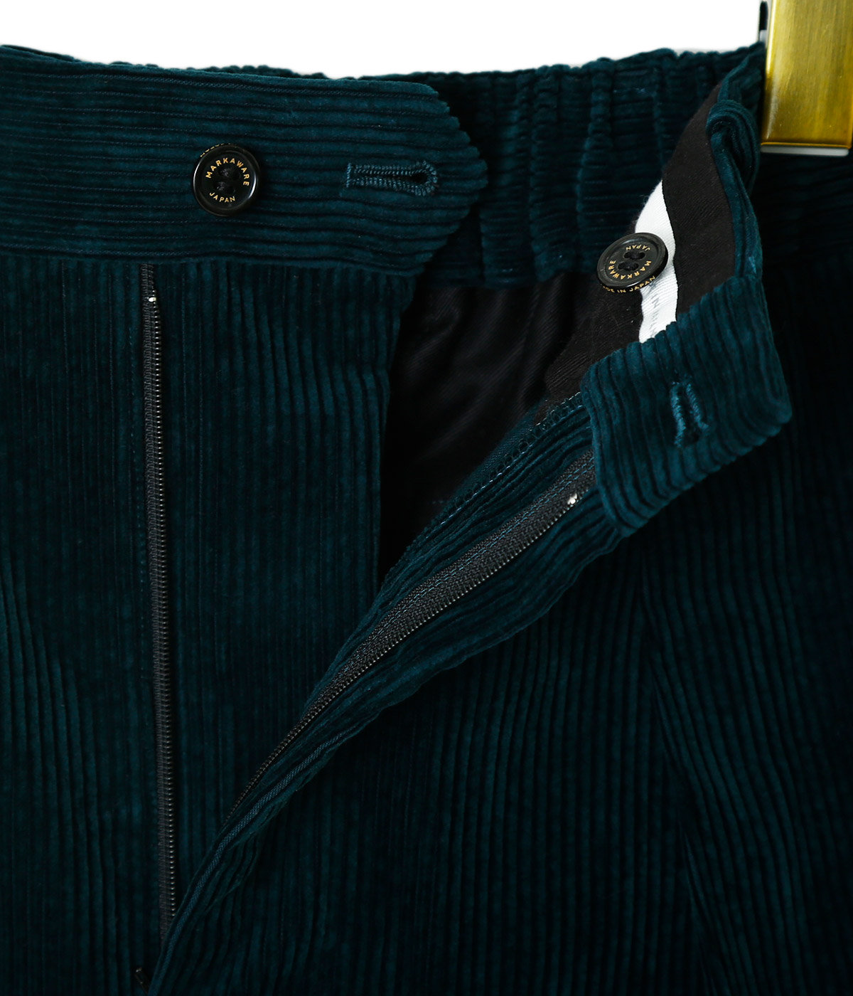 【予約】PLEATED FRONT PEGTOP -ORGANIC COTTON SURVIVAL CORDUROY-