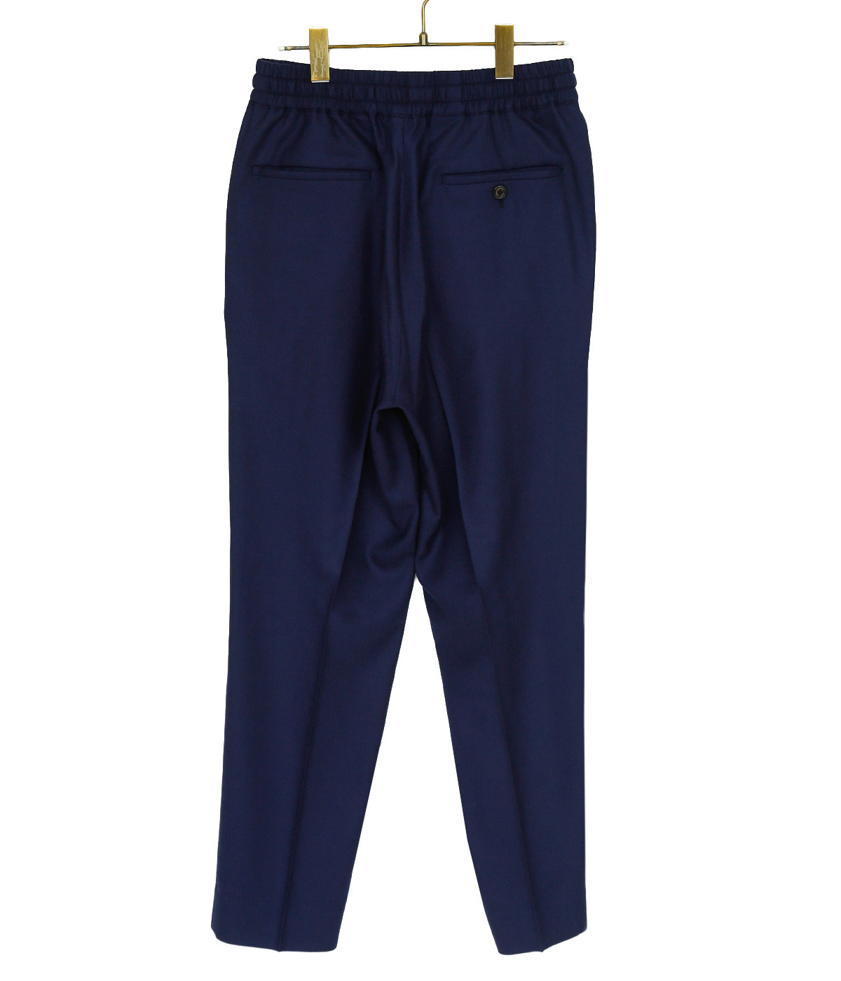 PEGTOP EASY TROUSERS -SUPER 100'S WOOL VIYELLA-
