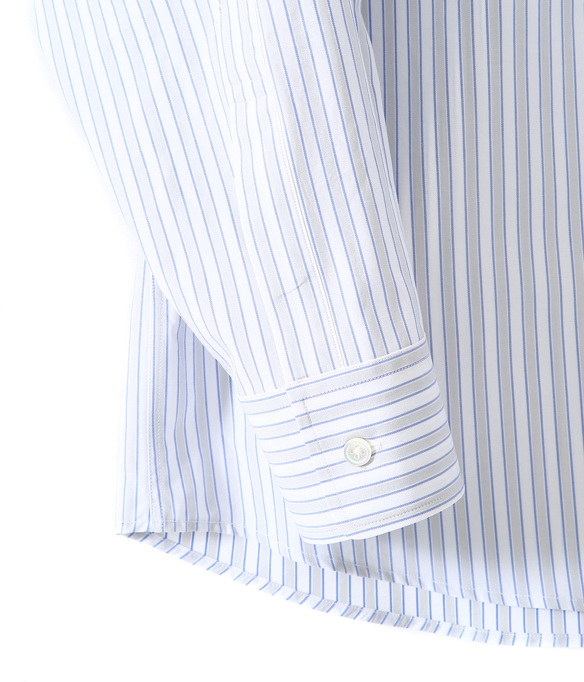 WASHED FINX TWILL STRIPE SHIRTS