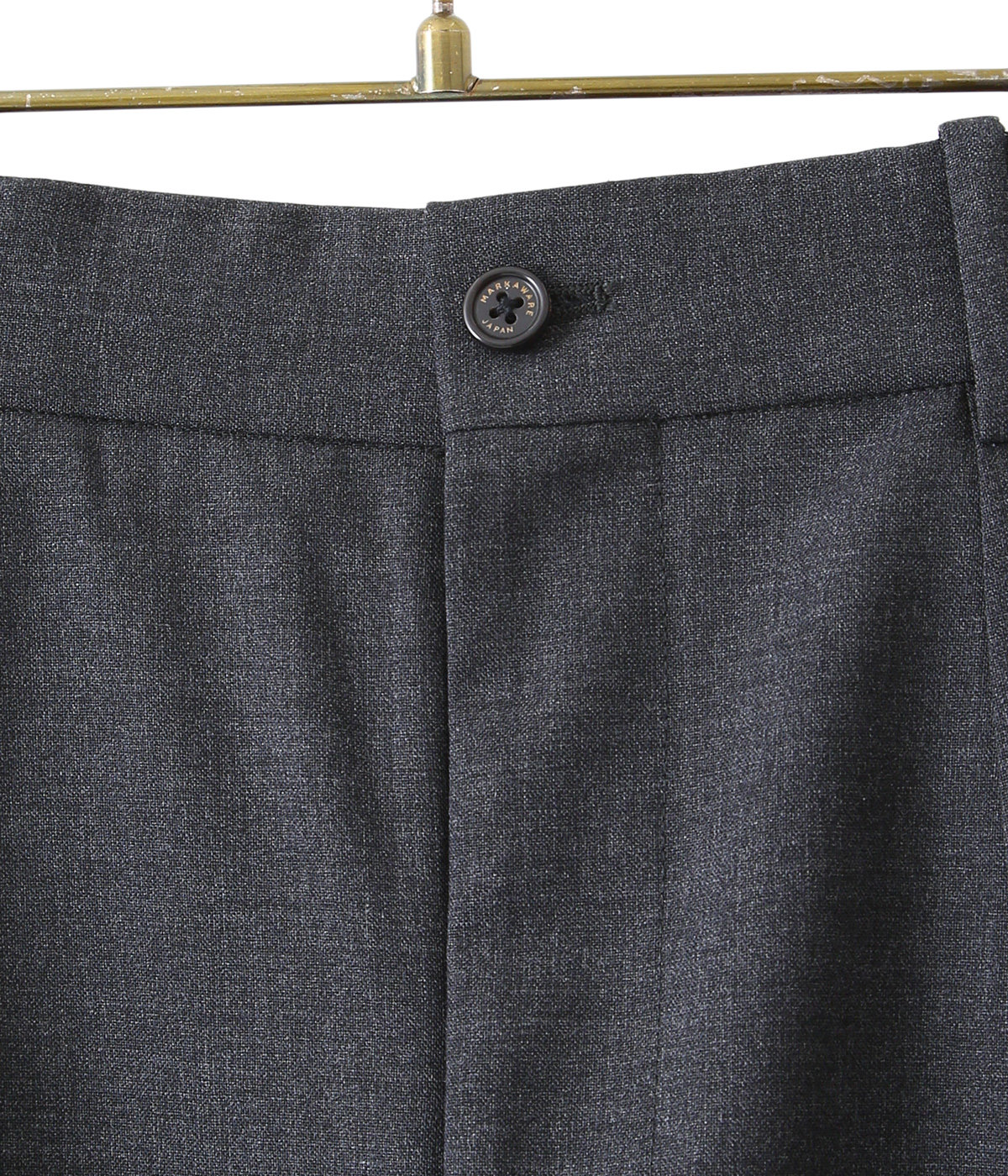 PEGTOP TROUSERS - ORGANIC WOOL TROPICAL -