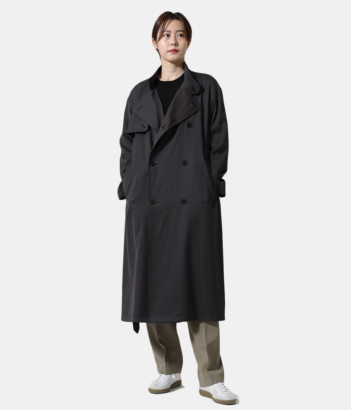 【レディース】WASHED FINX CHAMBRAY TWILL LONG COAT