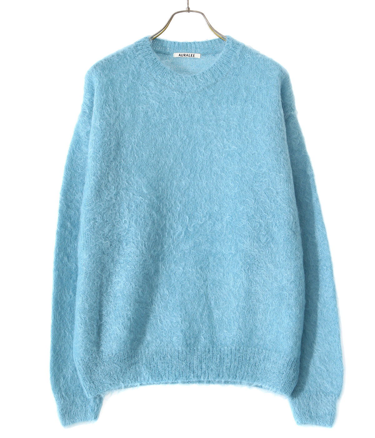 BRUSHED SUPER KID MOHAIR KNIT P/O
