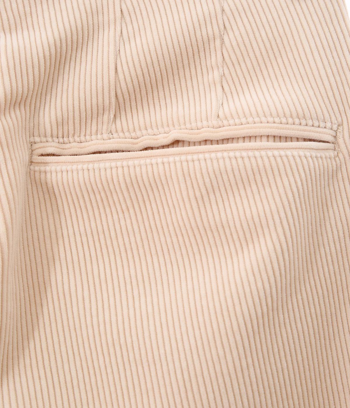 【レディース】WASHED SHANKAR WIDE CORDUROY SLACKS