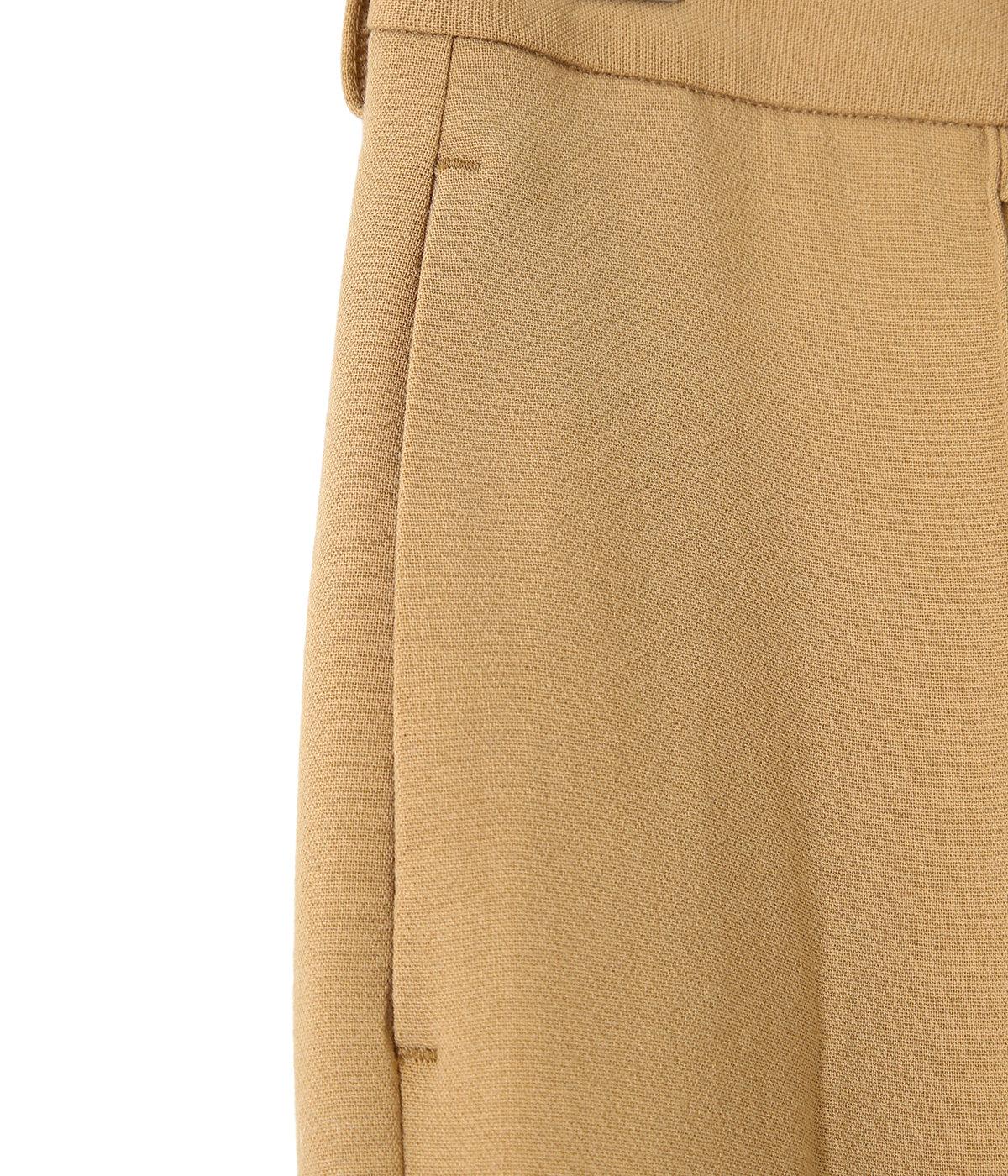 【レディース】TENSE WOOL DOUBLE CLOTH SLACKS