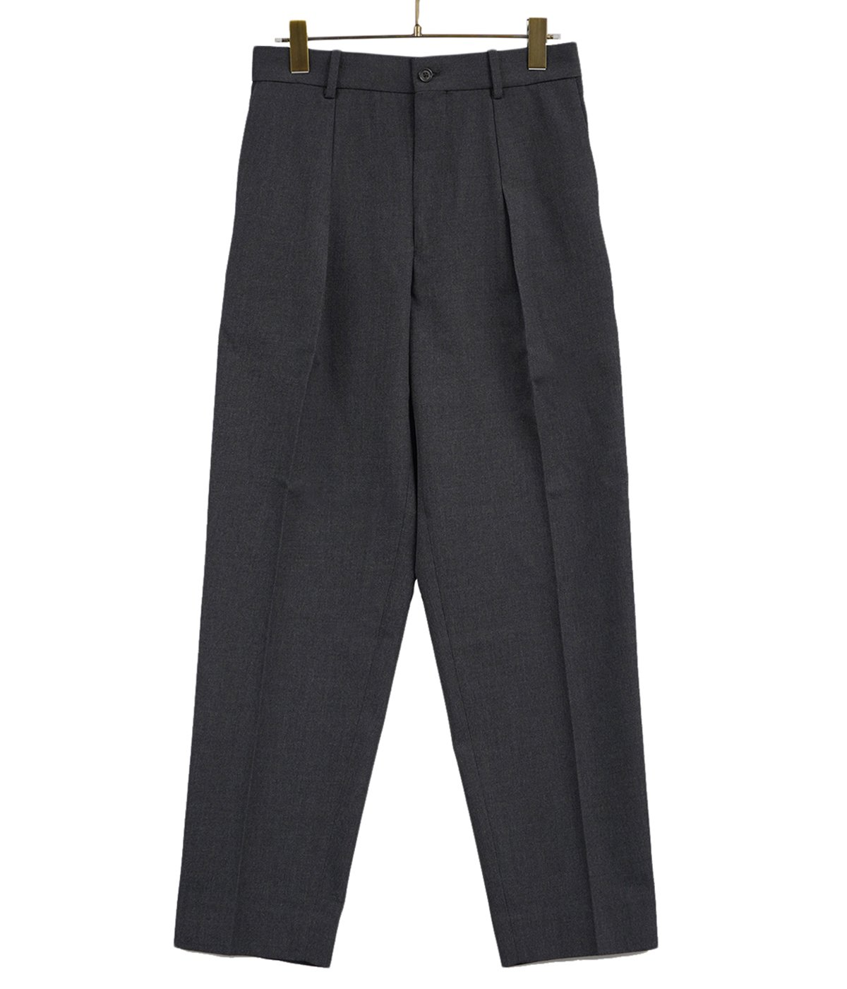 PLEATED FRONT PEGTOP-ORGANIC WOOL SURVIVAL CLOTH-