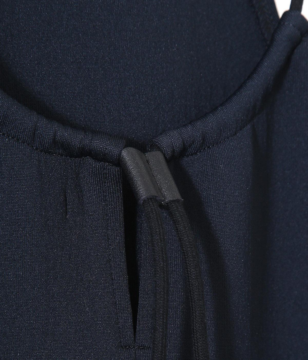 【レディース】SMOOTH NYLON DOUBLE KNIT HALTER NECK ONE-PIECE