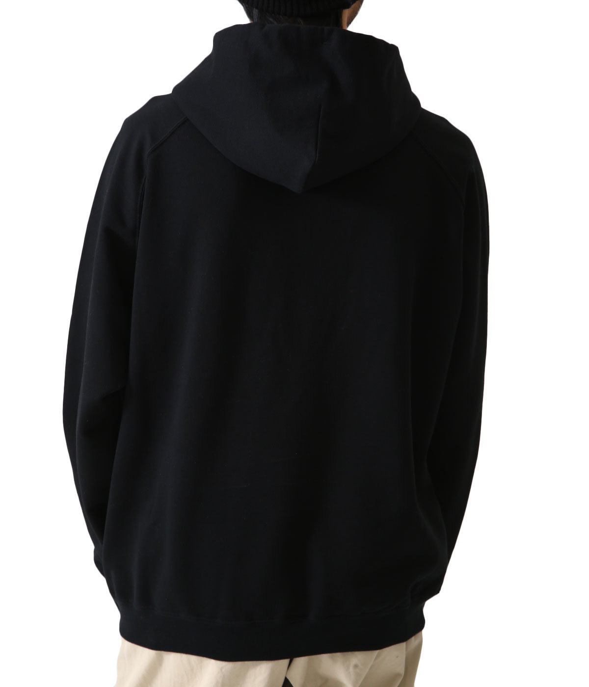 SUPER SOFT SWEAT BIG P/O PARKA
