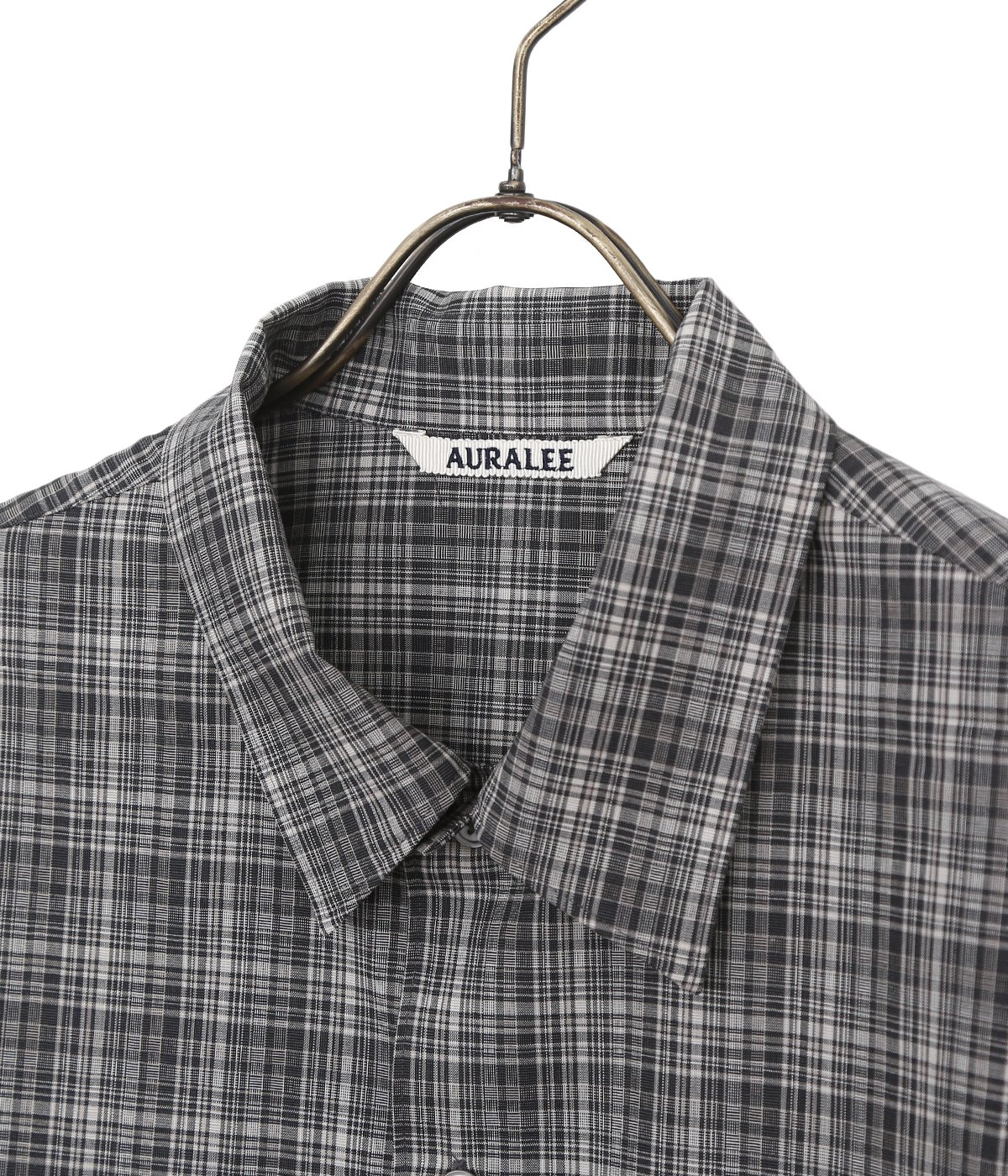 WASHABLE SUPER LIGHT WOOL CHECK SHIRTS