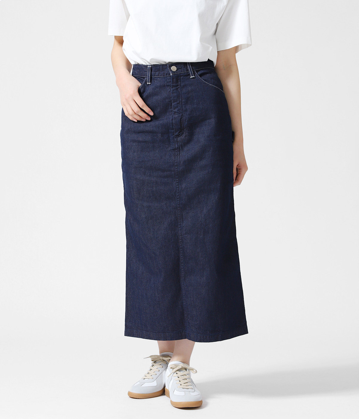 【レディース】HARD TWIST LIGHT DENIM SKIRT
