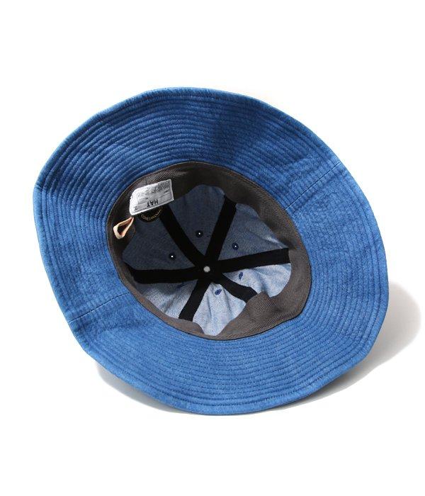 DENIM BALLON HAT -LIGHT BLUE-