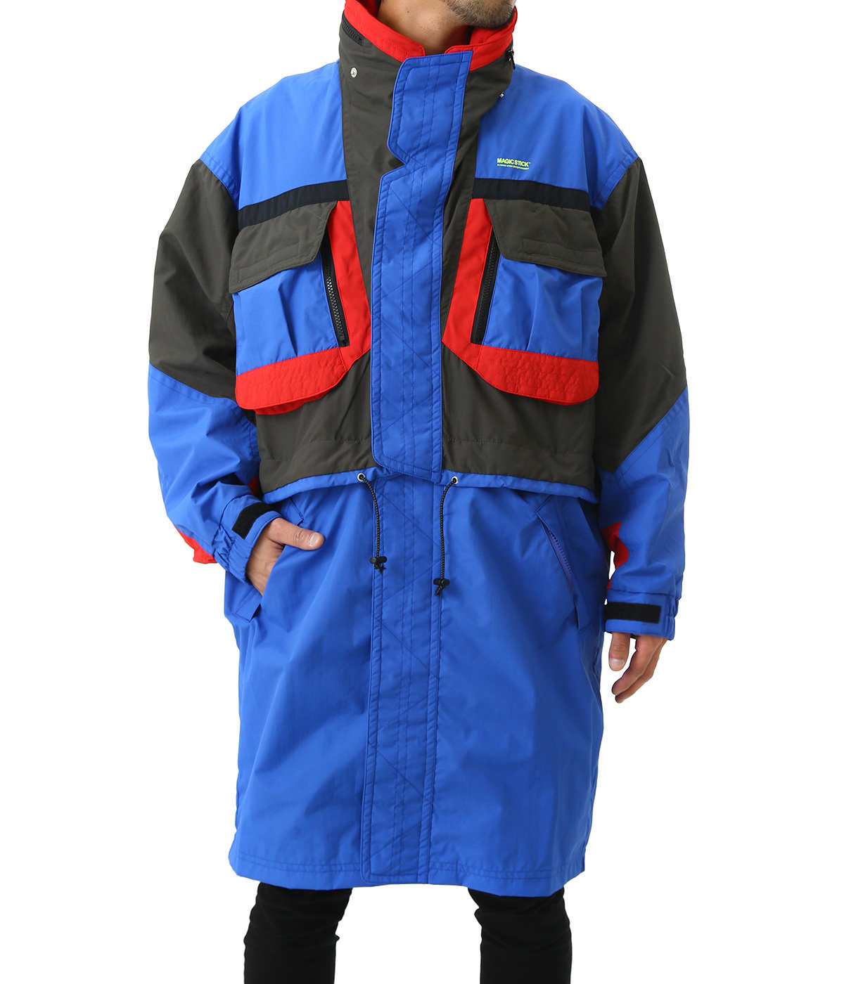 2WAY DETACHABLE SKI JACKET -AURORA 3M-