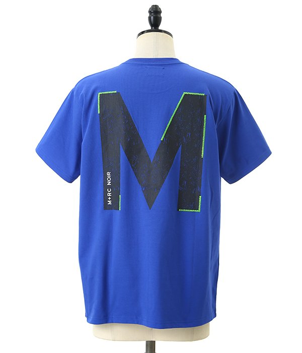 M+RC BLUE Tee Shirt Big M