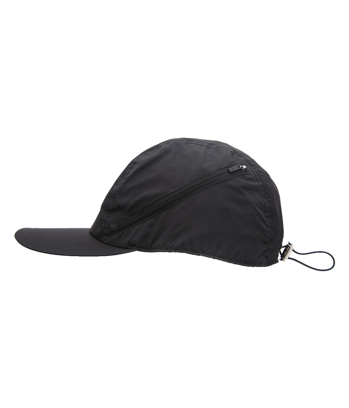 SOFT CLASSIC HAT WITH CURVED ZIP