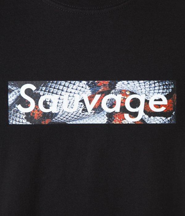 BLACK T-SHIRT Sauvage Mexican King Logo