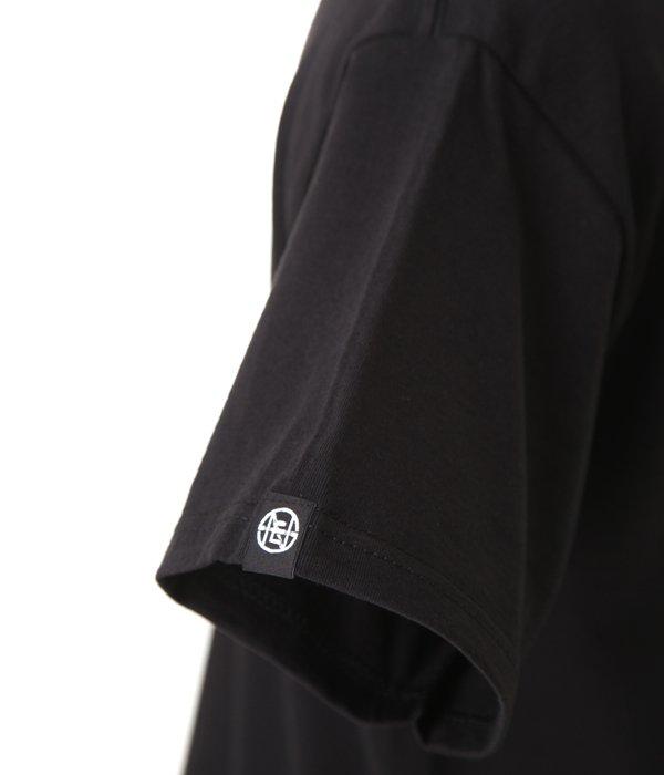 BLACK T-SHIRT Sauvage Rainbow Snake Logo
