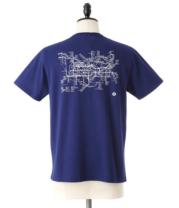 TUBE MAP SS TEE