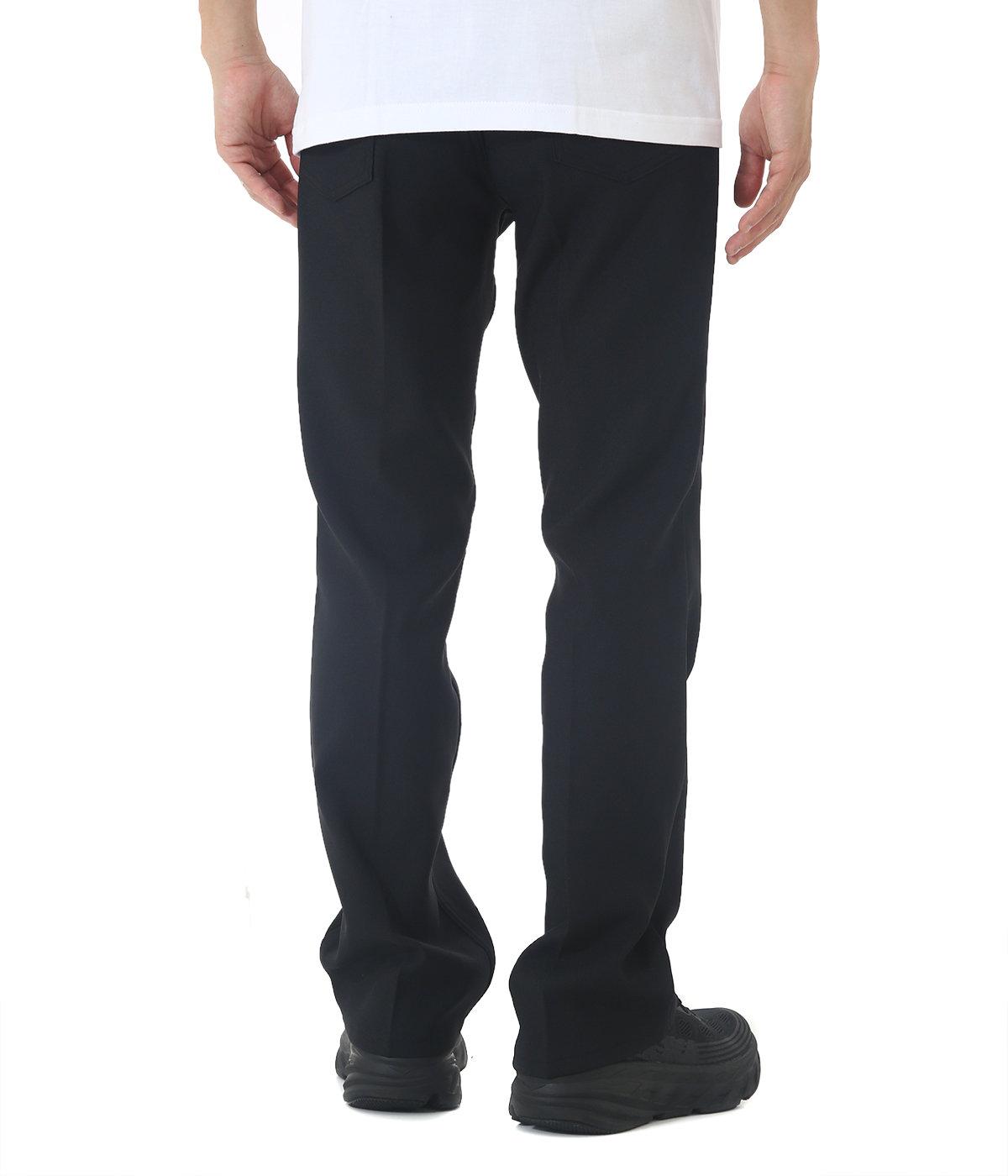 wappen boot-cut pants