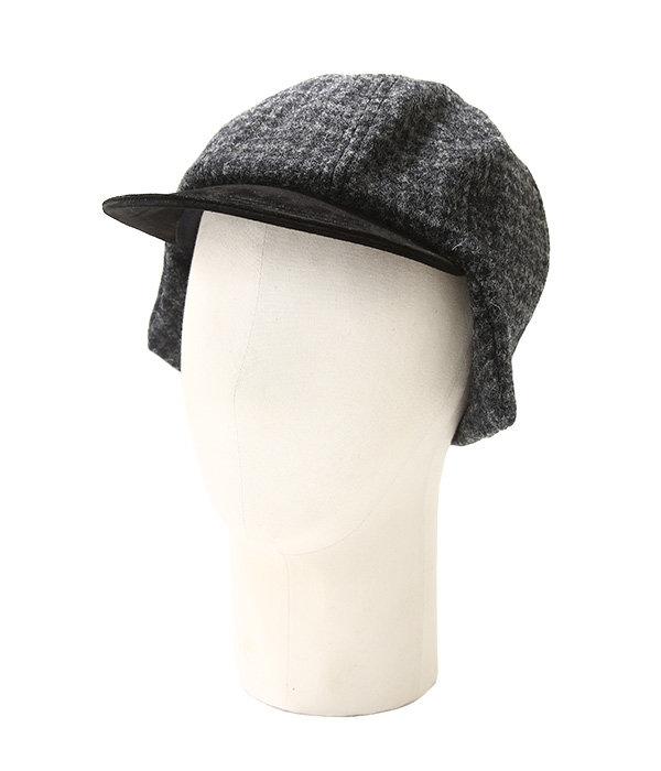 tweed ear cap