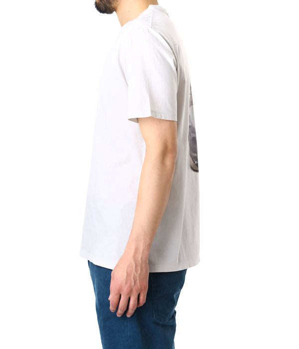 T-SHIRT GOLDEN ROUND NECK L-GRY SNEAKERS