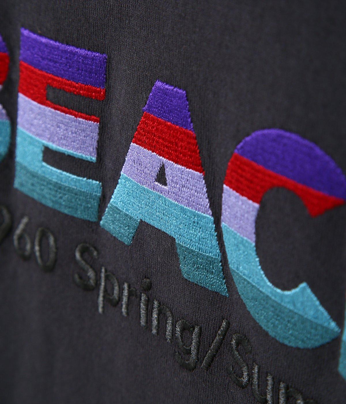 """BEACH"" Half-Sleeve Tee"
