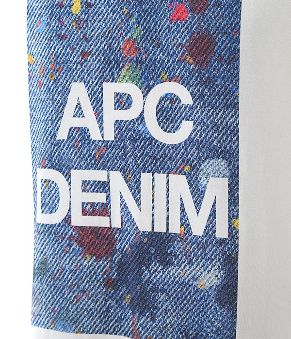 T-SHIRTS APC DENIM