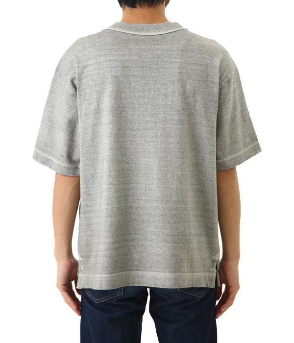 DRY ROUGH COTTON JERSEY TEE