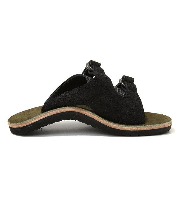 "nakamura shoes×CORONA""SANDAL 16"" -Black / Moss-"
