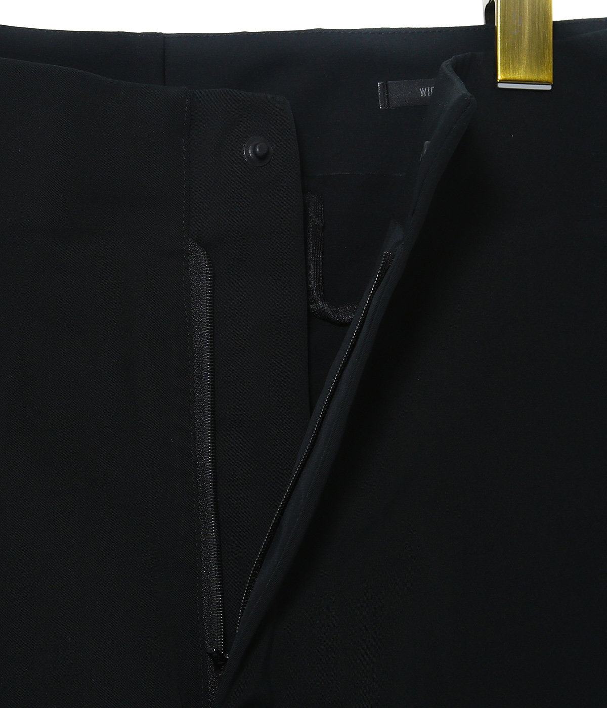 HIGH STRETCH PANTS WIDE TAPERED FIT