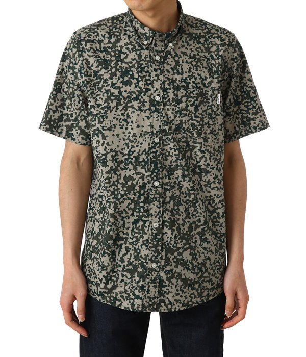 S/S CAMO STAIN SHIRT