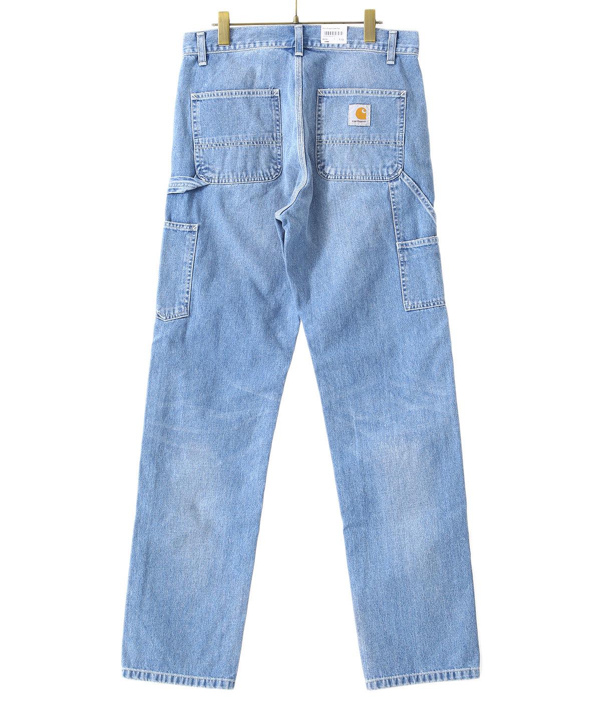 RUCK SINGLE KNEE PANT(Blue worn bleached)
