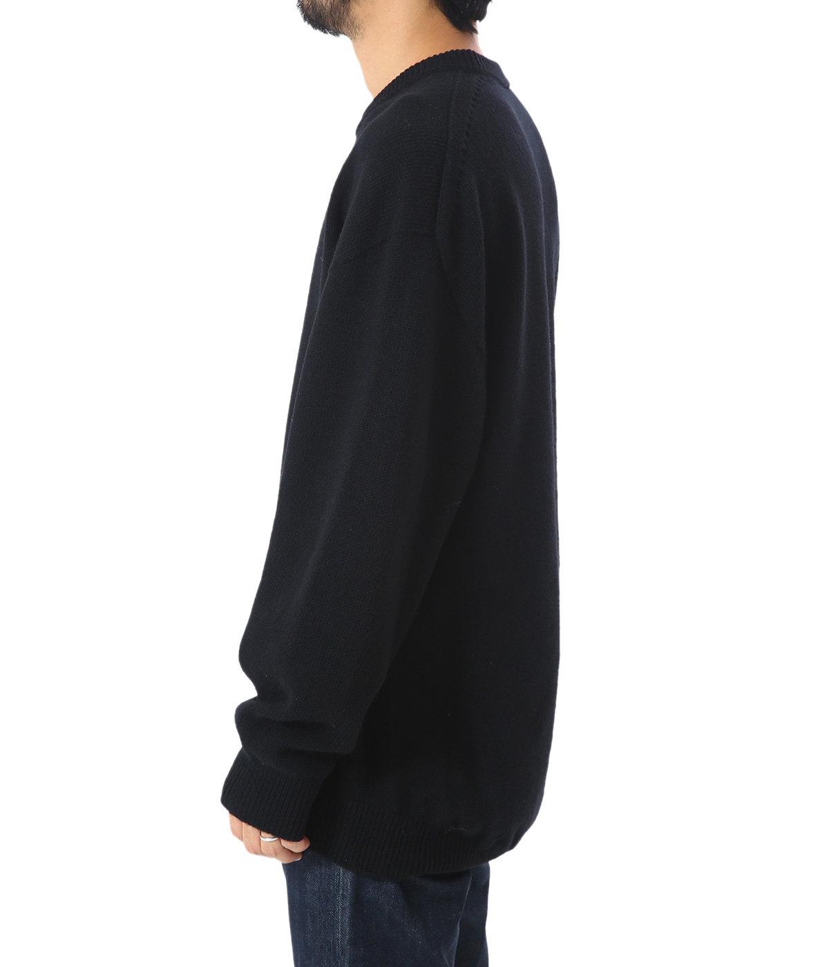 【別注】wholegarment C/N pullover