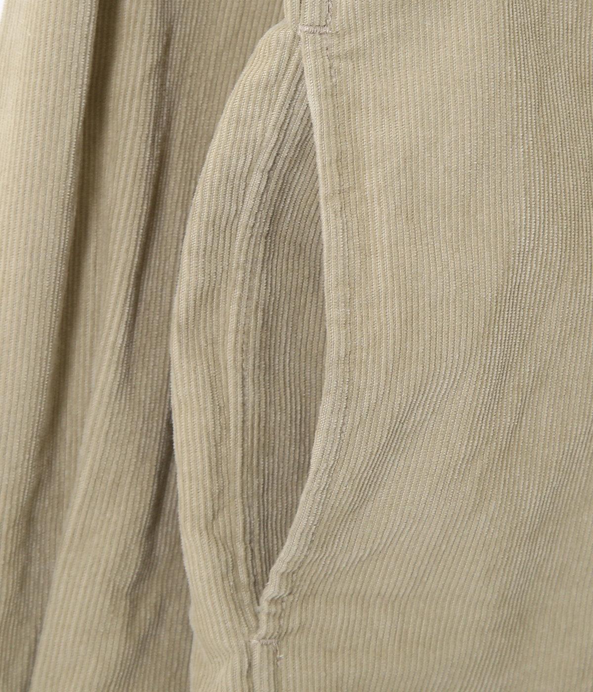 コンフォートシャツ リラックススクエア -corduroy-