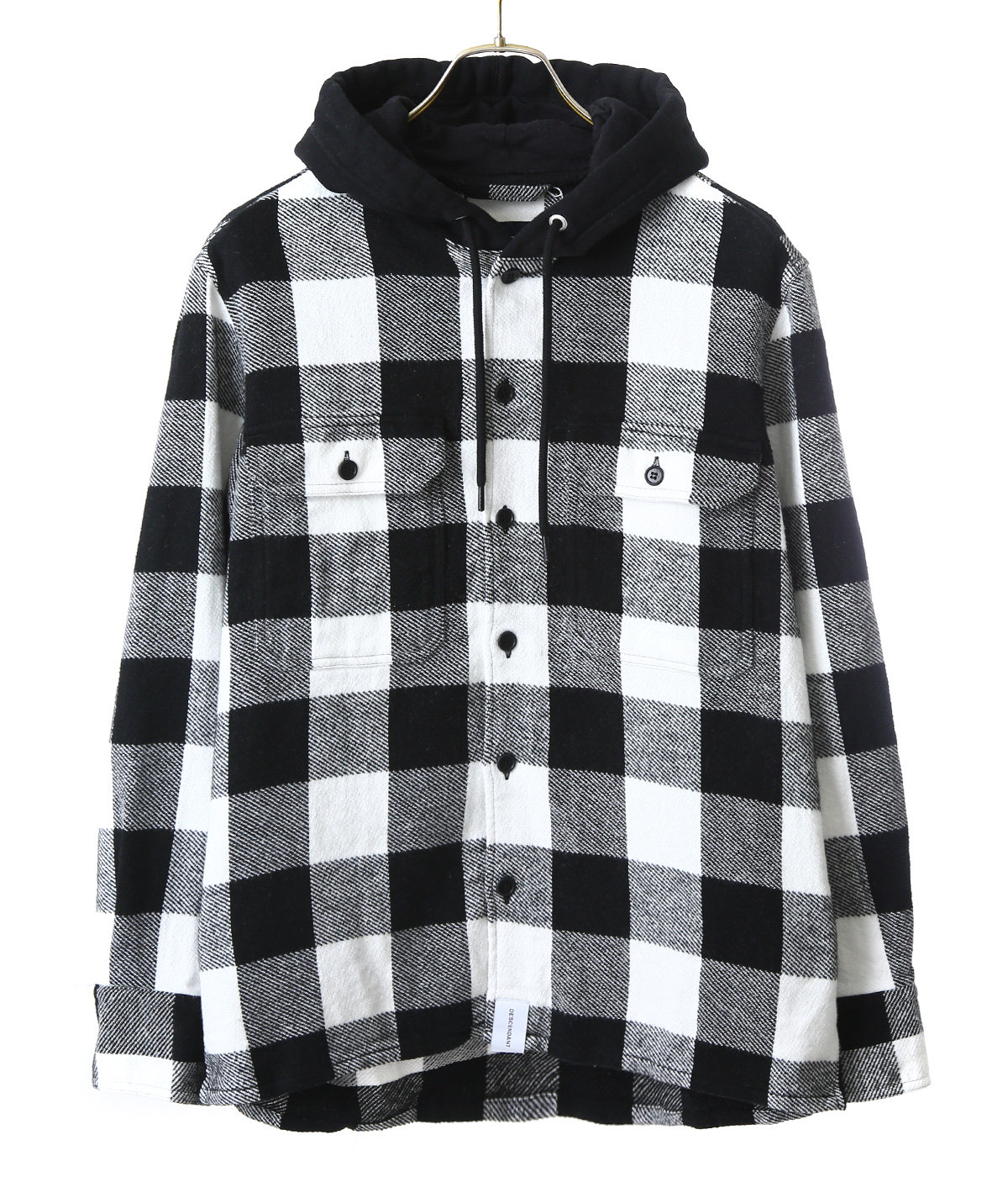 SPICOLI HOODED LS SHIRT