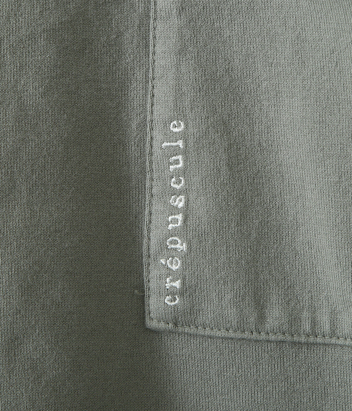 garment dye pocket S/S