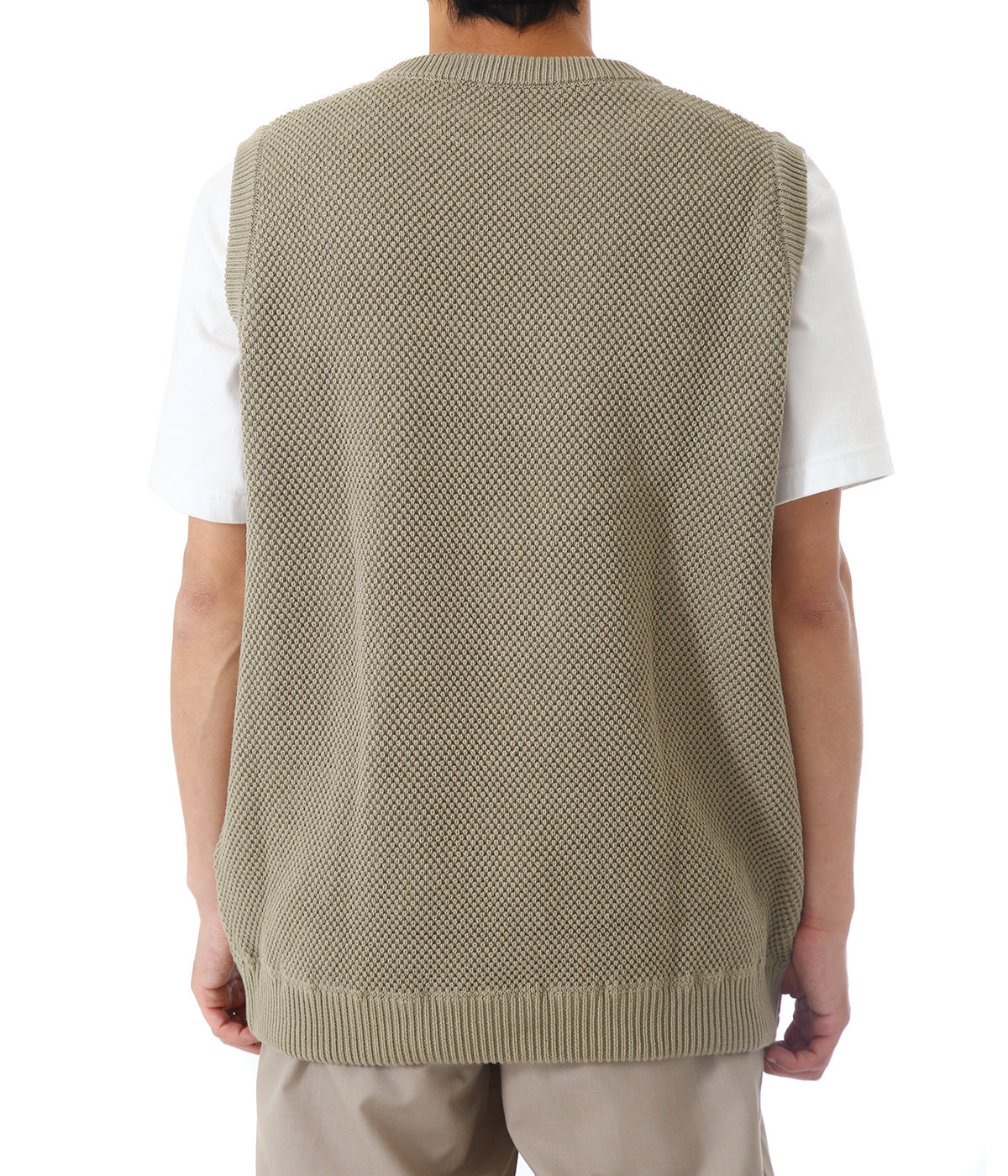 【別注】moss stich vest