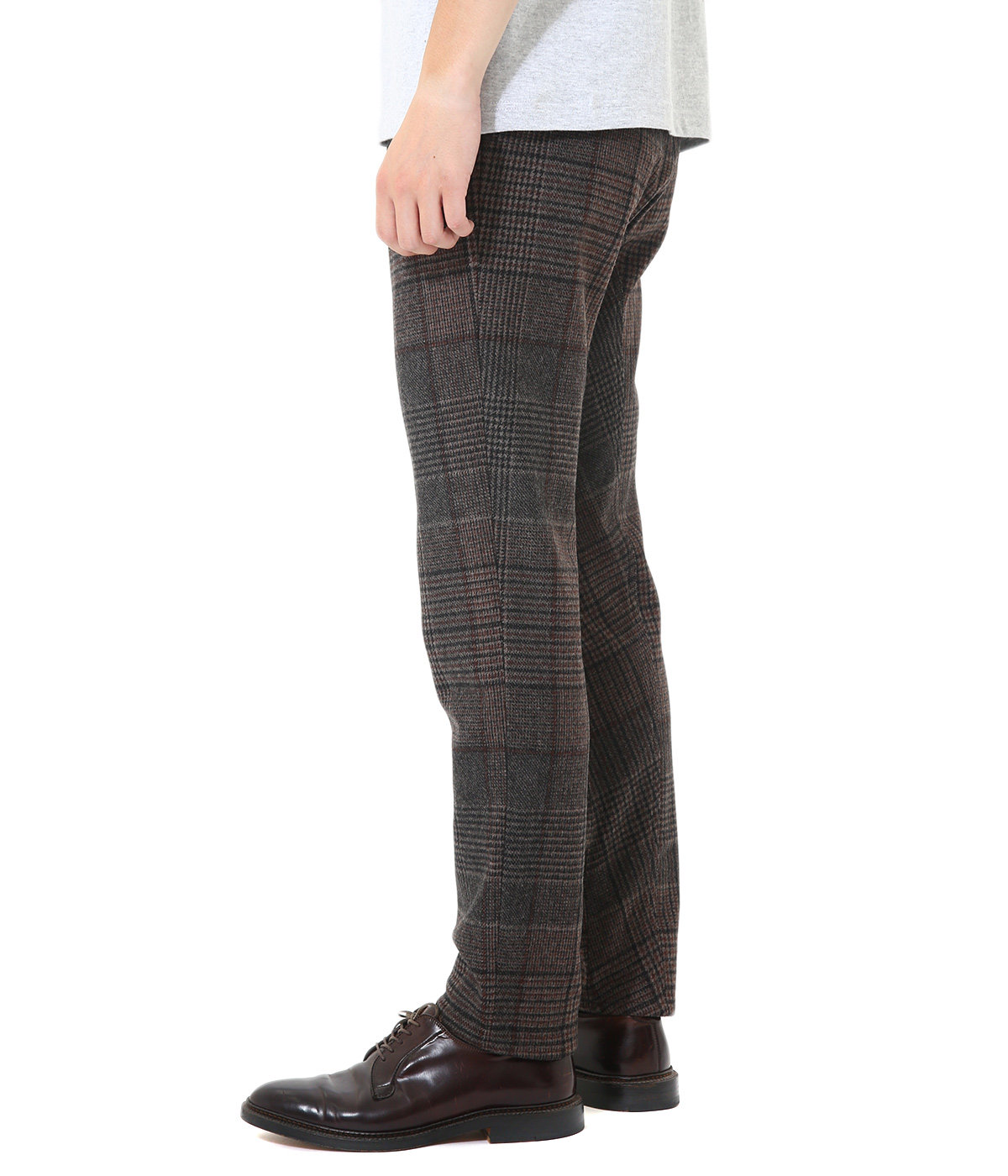 CHECK SLIM EASY PANTS