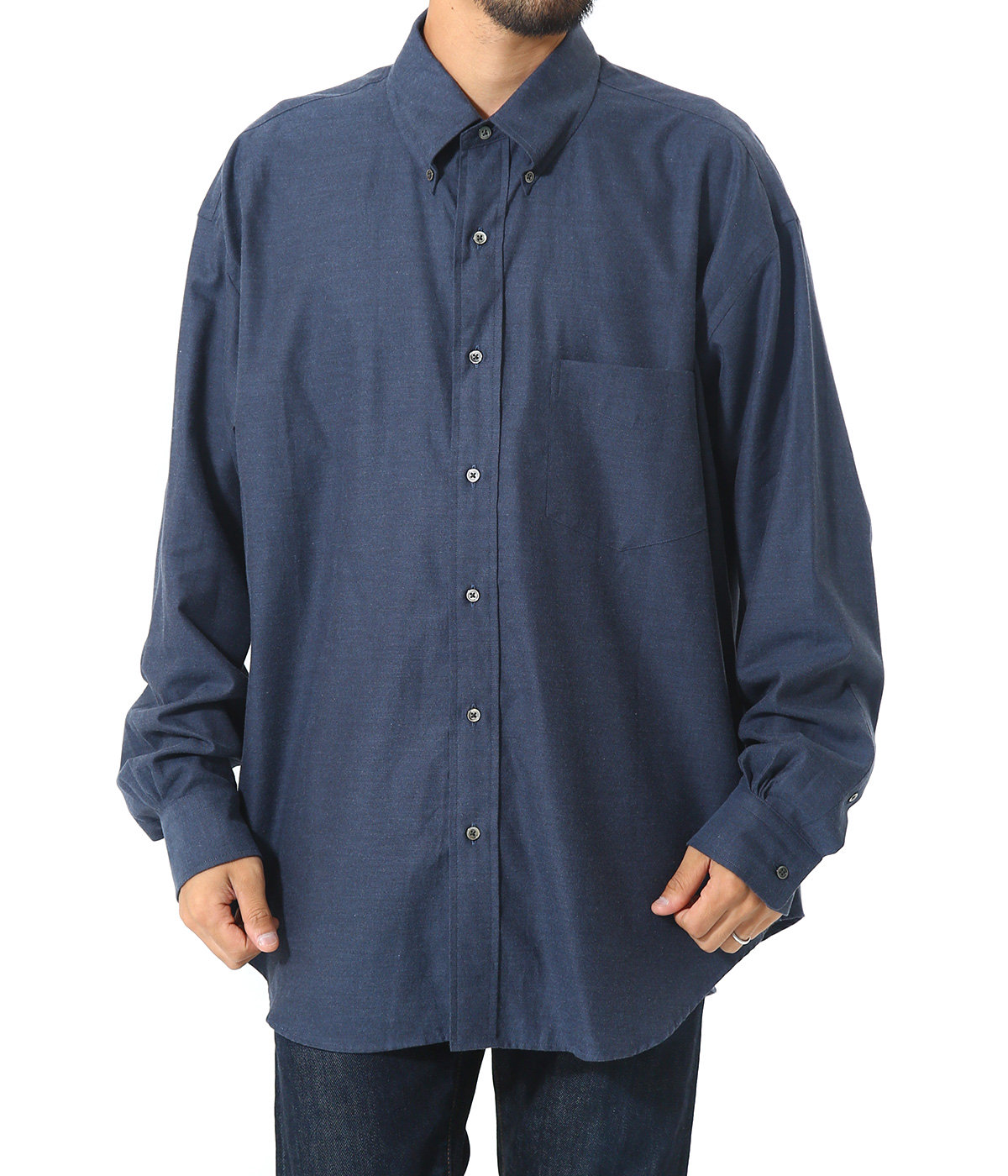 THOMAS MASON L/S B.D Box Shirt
