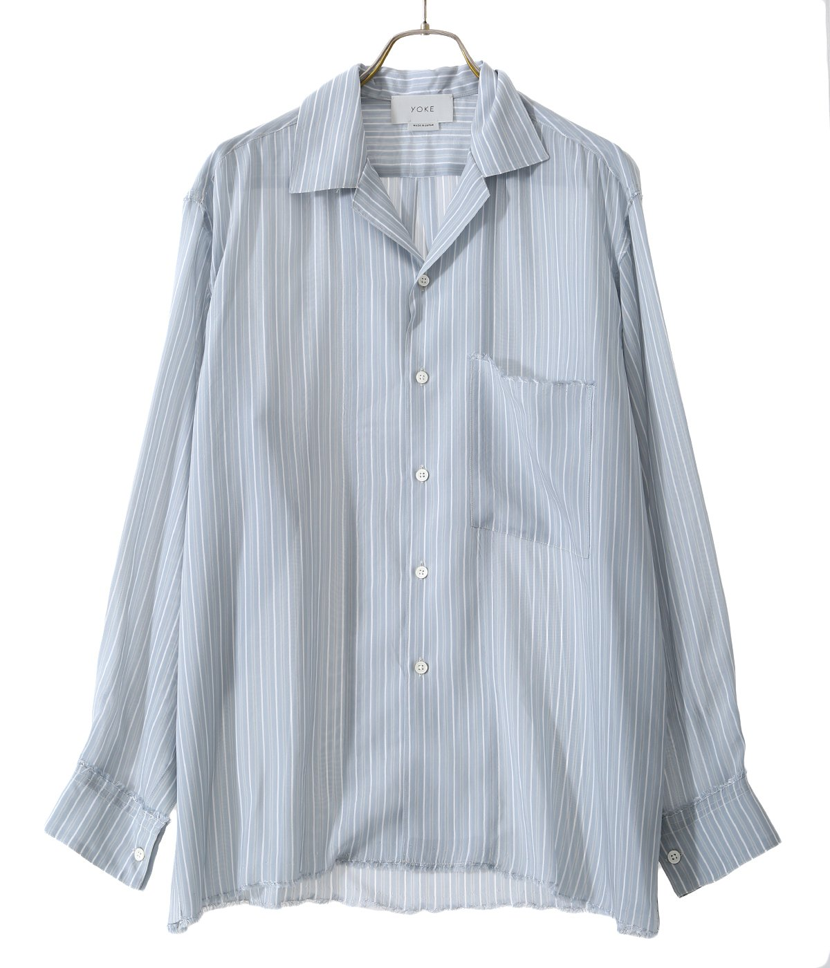 OVER SIZE STRIPE SHIRTS