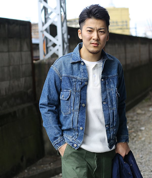 別注 2ND DENIM JACKET 1 YEAR WASH