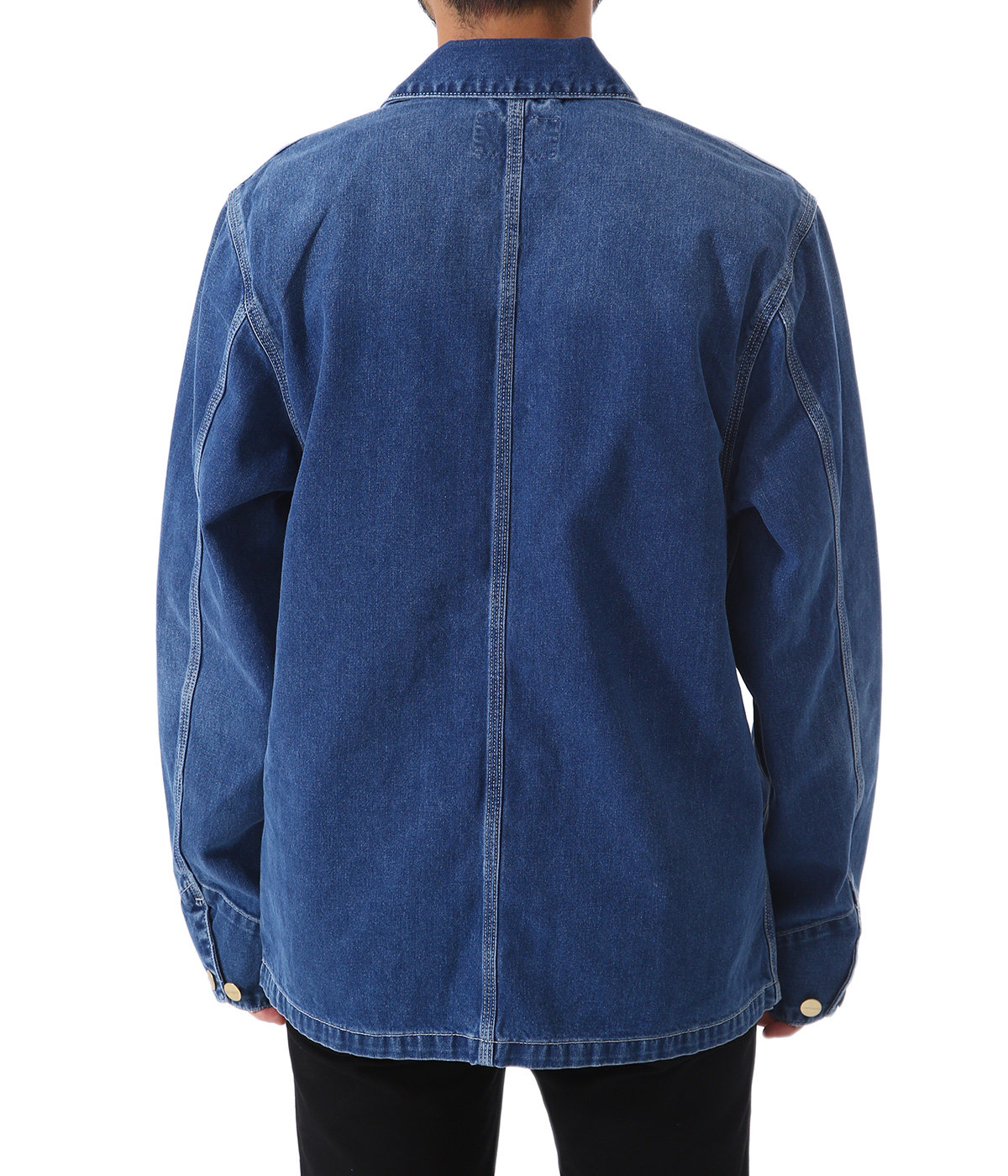 MICHIGAN CHORE COAT(Blue mid won wash)