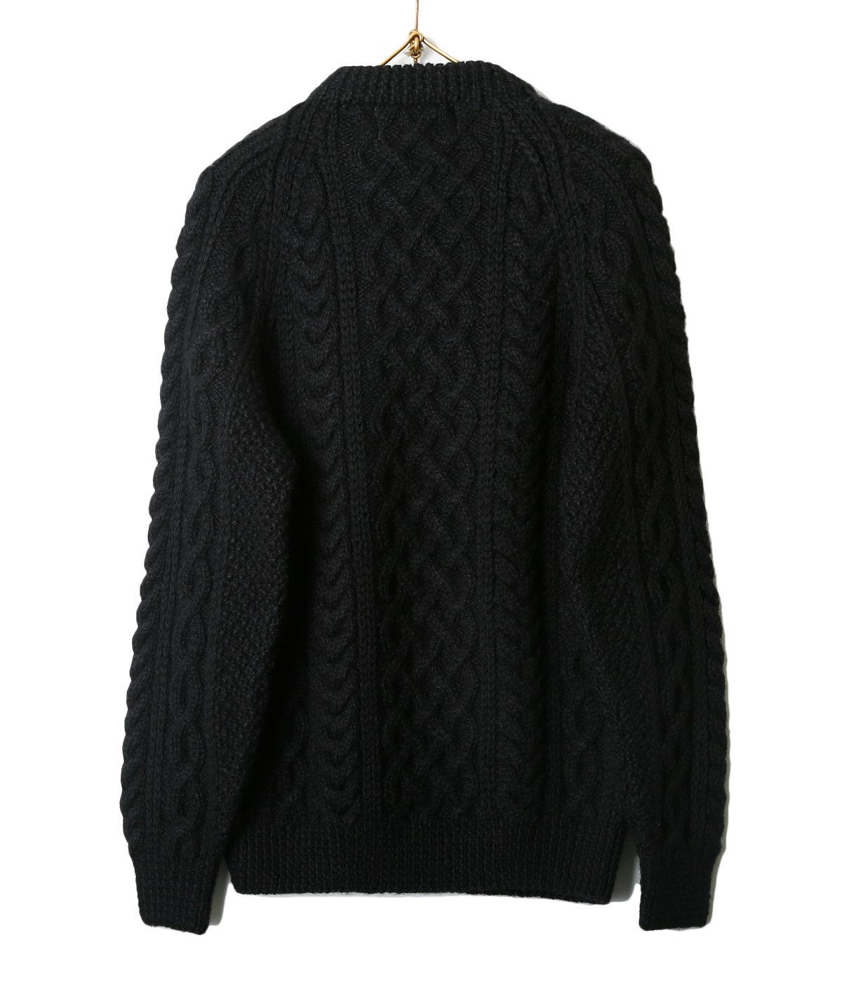 Crewneck Sweater (SIZE ; 40.42) ブラック