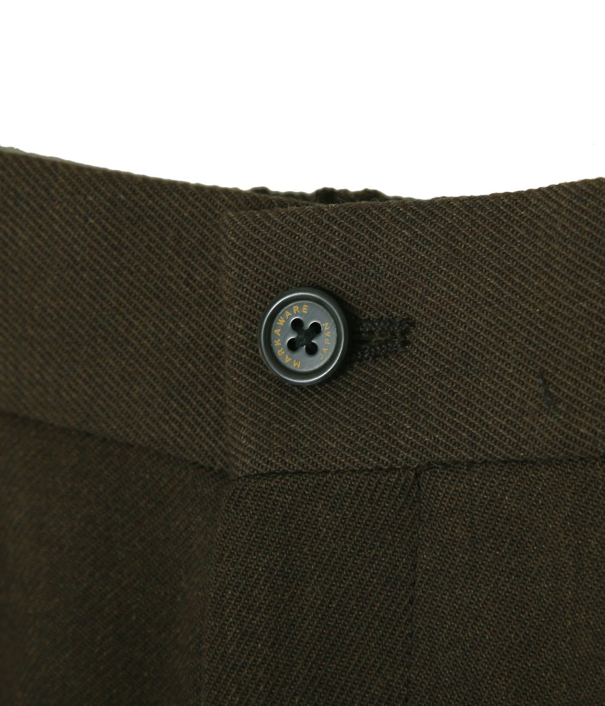 STRAIGHT FIT TROUSERS -ORGANIC WOOL SURVIVAL CLOTHS-