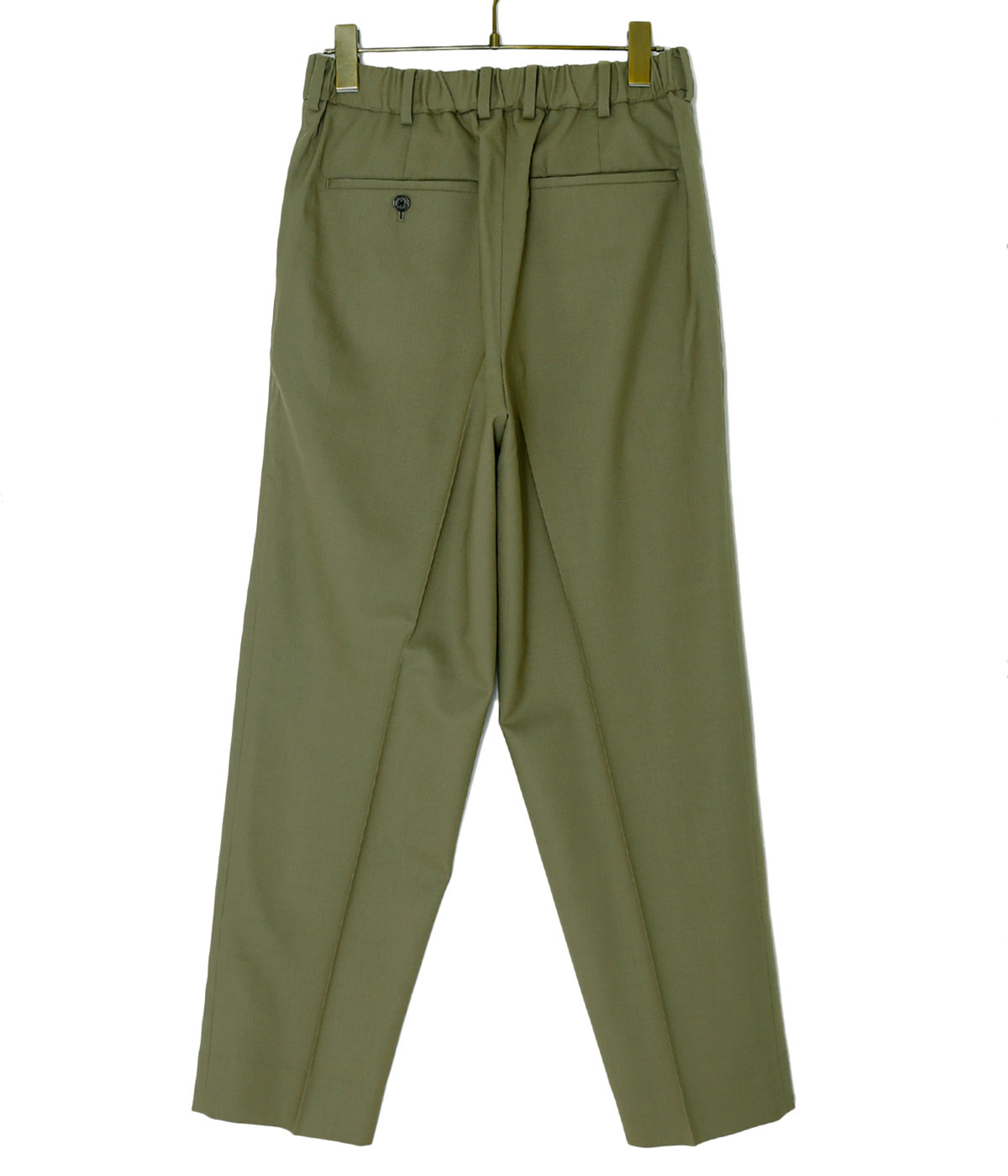 PEGTOP TROUSERS -ORGANIC WOOL TROPICAL-