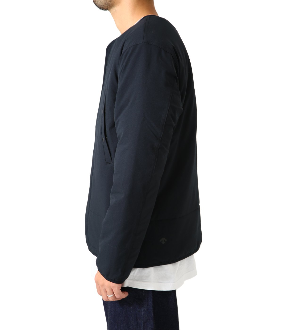 ddd / LIGHT PUFF CARDIGAN JACKET