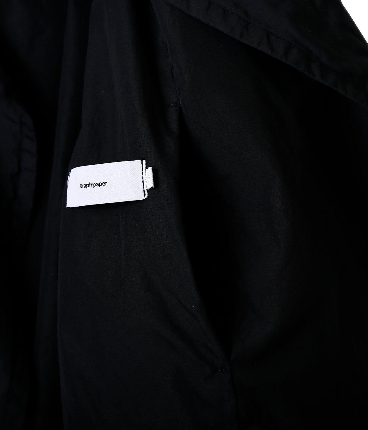 Garment Dyed Poplin Coat
