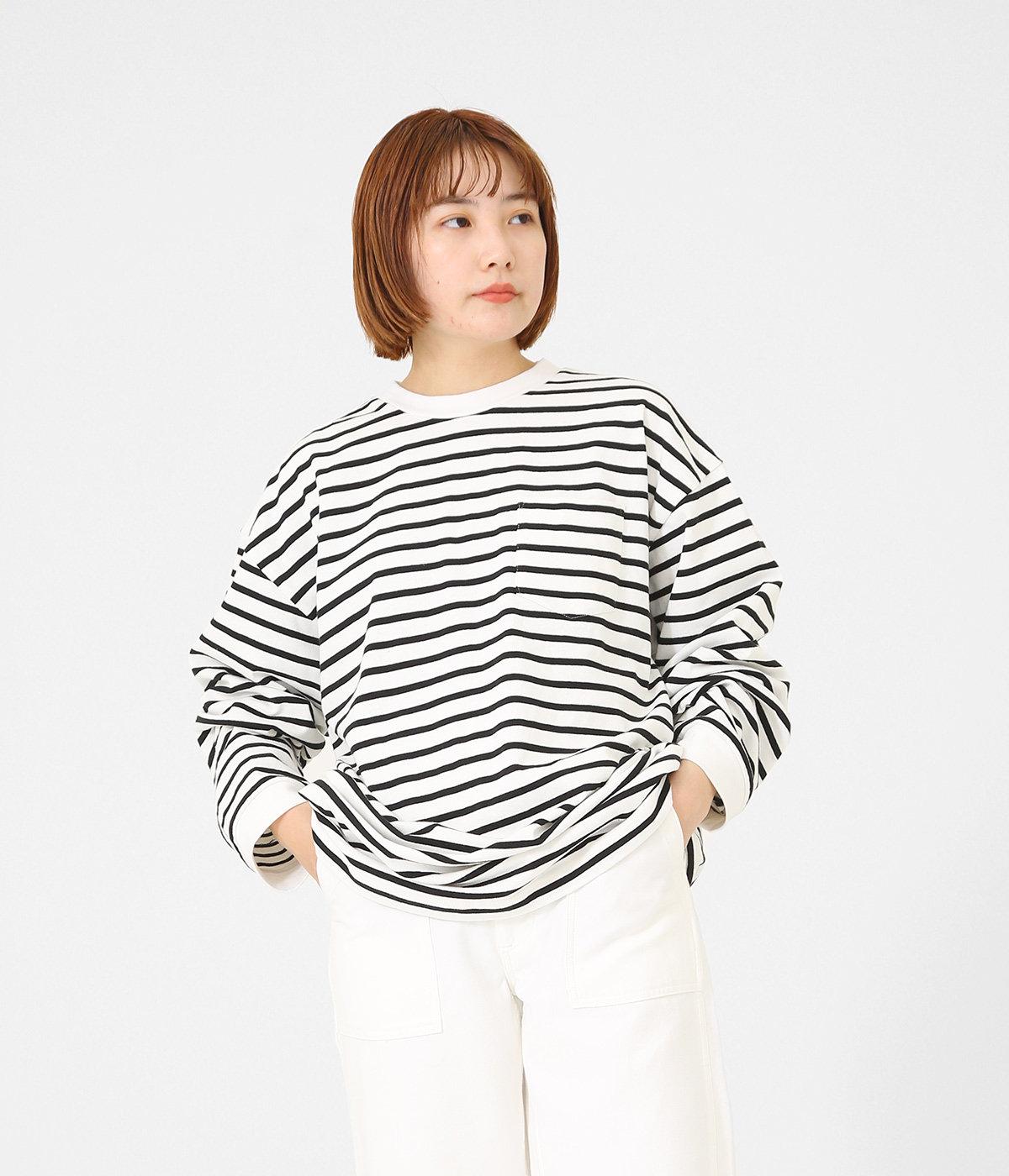 【オフホワイト/ブラック】NARUMI ( 158cm ):フリーサイズ(ワンサイズ)