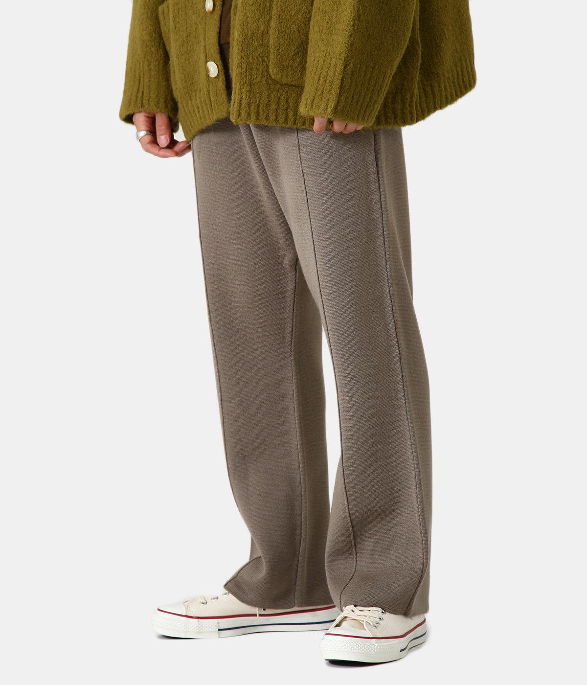 Straight Knit Pants