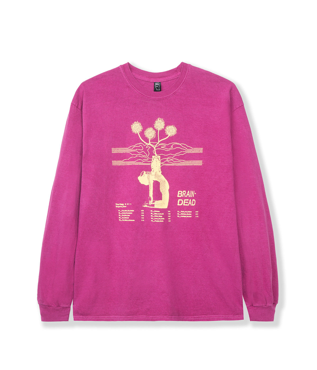 MIND KEEP LONG SLEEVE TEE