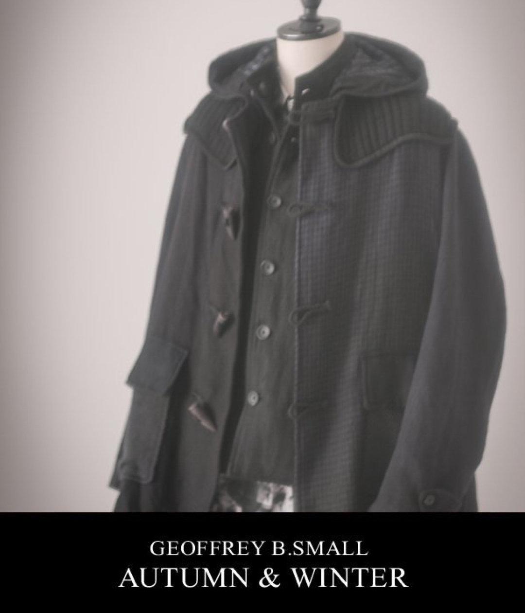 patchwork duffel coat