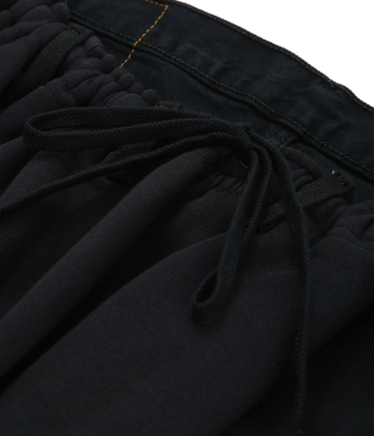 Over jogging jeans